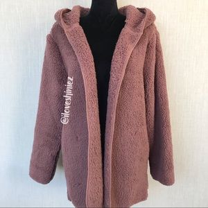 •Victoria's Secret PINK• Sherpa Cardigan